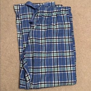 Natural Reflections Blue Pajama Pants NWT